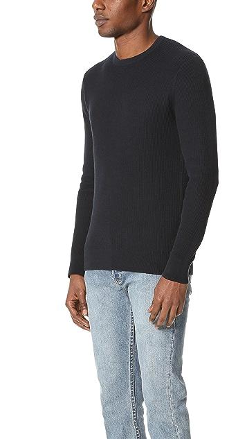 Theory Hilbet Breach Crew Neck Sweater