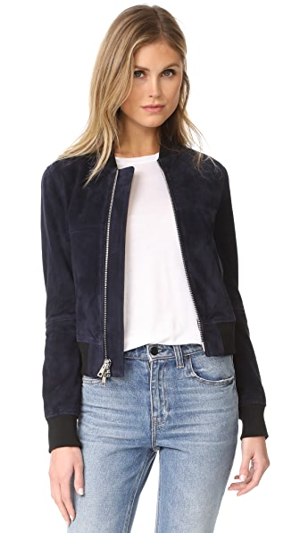 Theory Daryette S Bomber Jacket at Shopbop