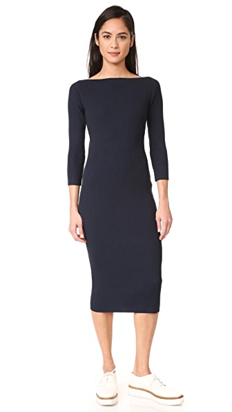 Theory Delissa C Dress - Deep Navy