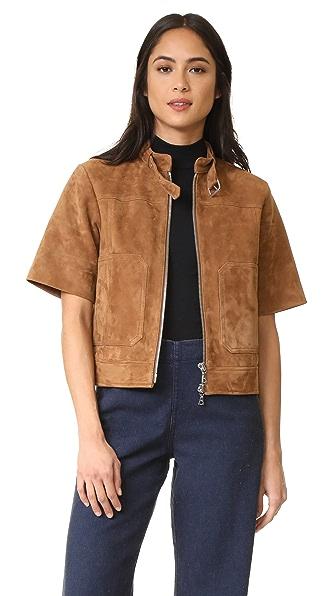 Theory Lavzine Short Sleeve Jacket