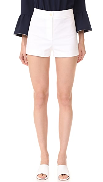 Theory Biquincey Shorts In White