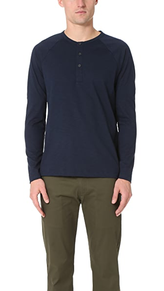 Theory Adrik Long Sleeve Henley