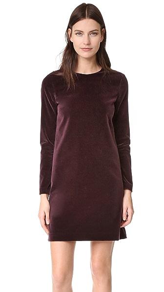 Theory Wynter Velvet Dress