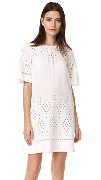 Theory Idetteah Dress - Ivory