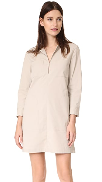 Theory Jullitah B Dress - Light Clay