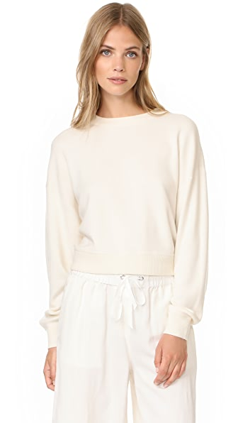 Theory Verlina Sweater In Ivory