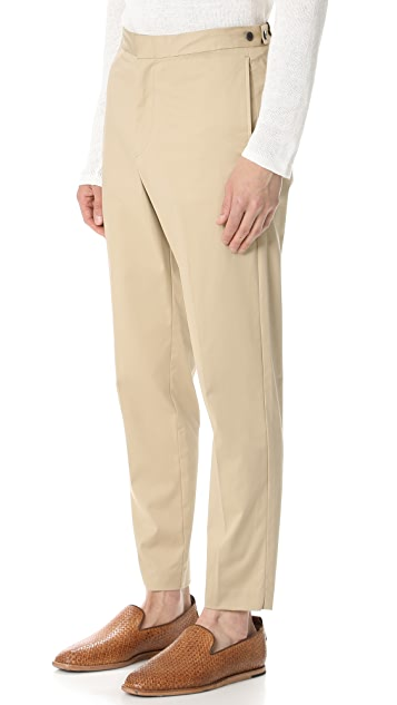 Theory Borough Cropped Trousers