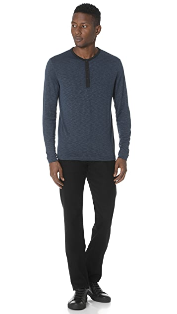 Theory Ringer Snap Henley