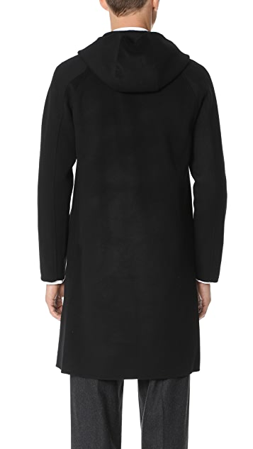 Theory Double Faced Wool Coat