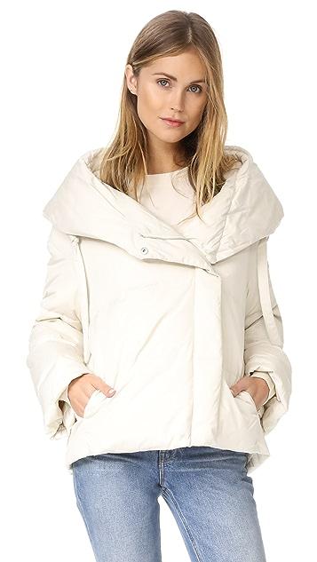 Theory Toralla OTS Short Puffer Coat