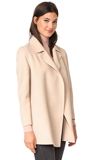 Theory Clairene Wool Coat