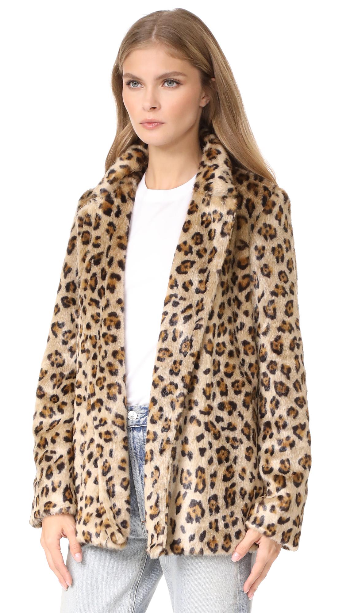 3523daaddc1b Theory Clairene FB Faux Fur Coat | SHOPBOP