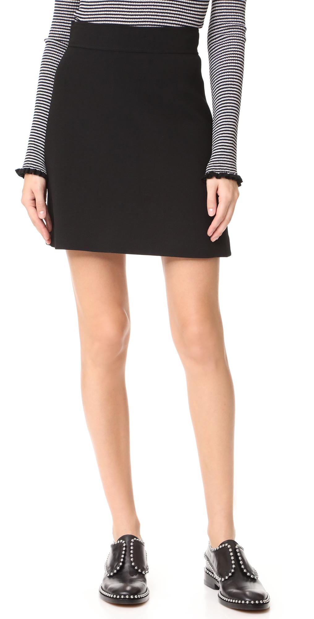 Highwaist Mini B Skirt Theory