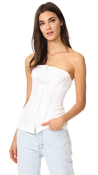 Theory Modern Bustier - White