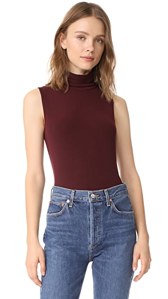 Theory Wendel Tank In Dark Currant