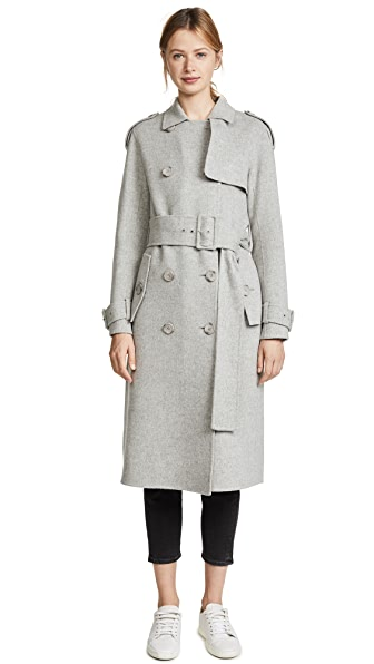 Theory Statement Trench Coat at Shopbop