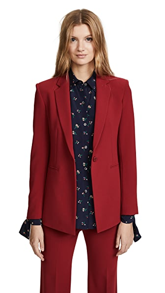 Theory Power Jacket 2 In Bright Raspberry