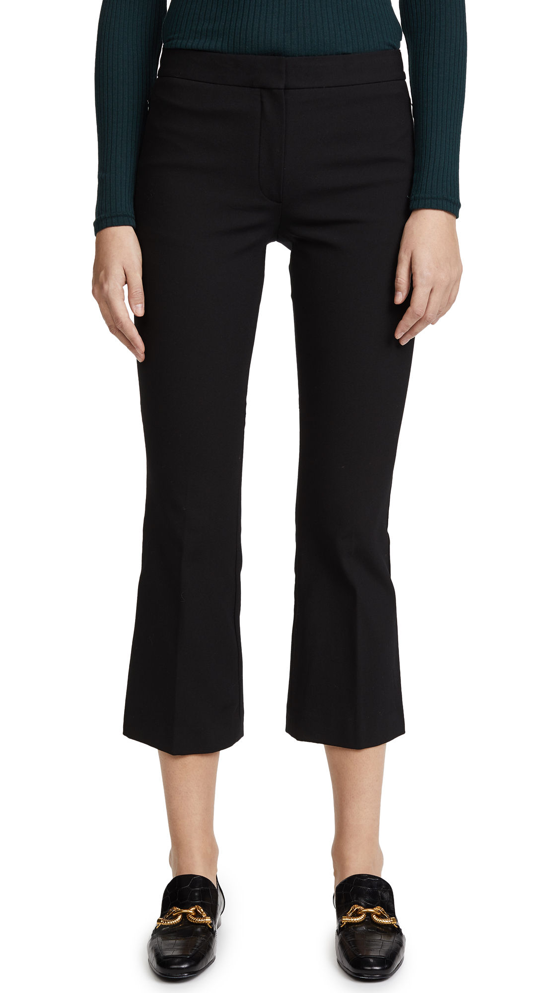 Theory Kick Pants - Black