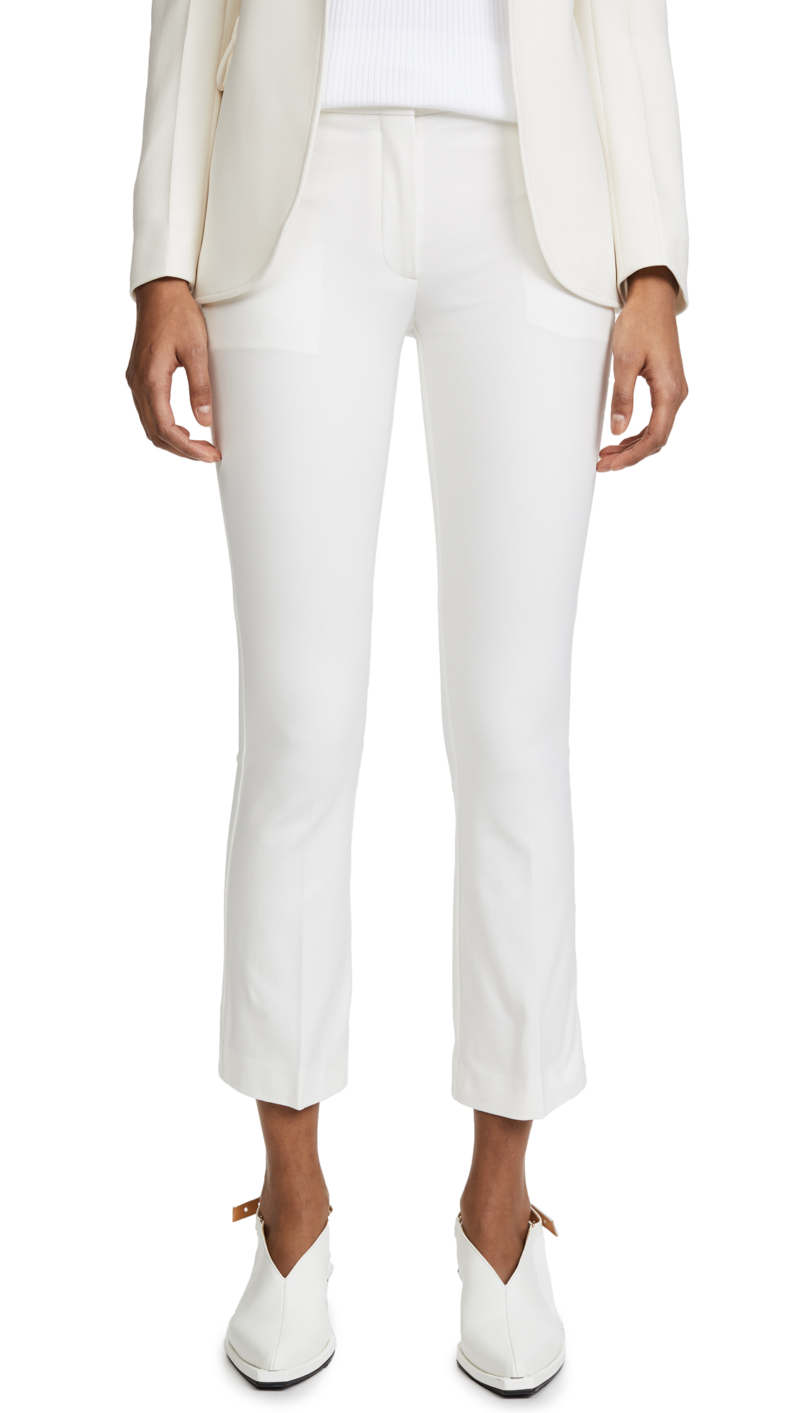 Theory Kick Pants - Ivory