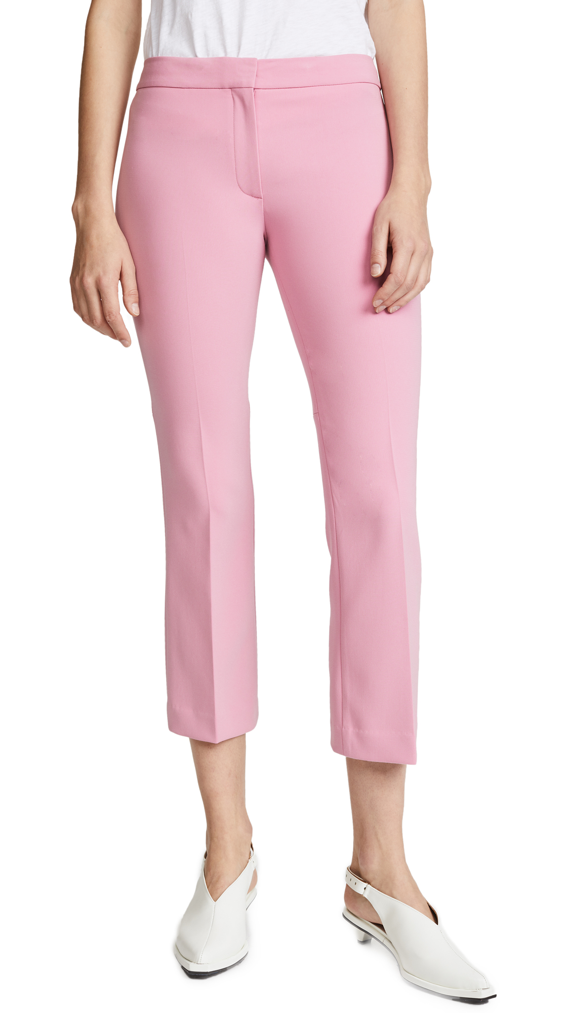 Theory Kick Pants - Bubble Pink