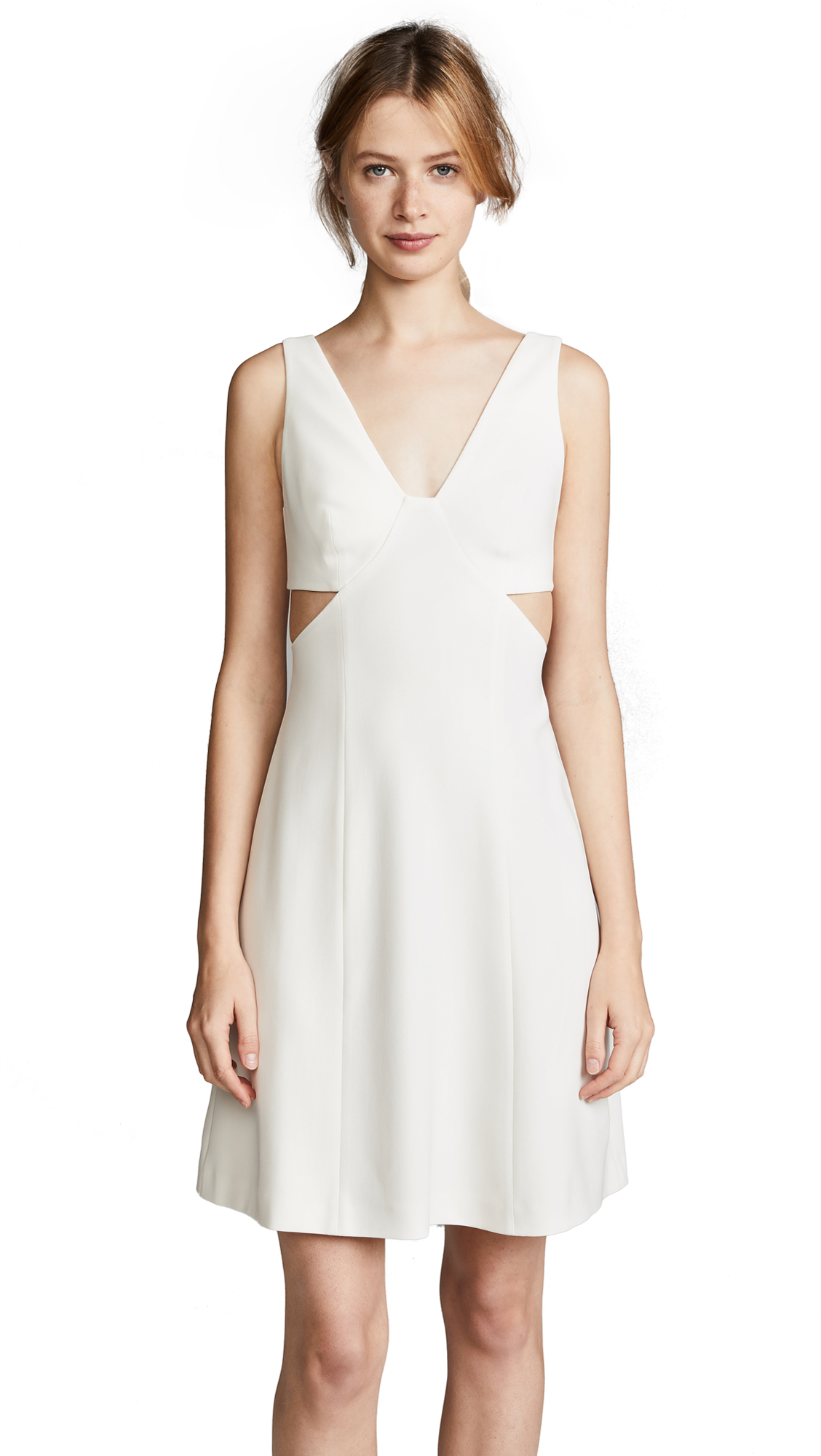 Theory Cutout Dress - Ivory