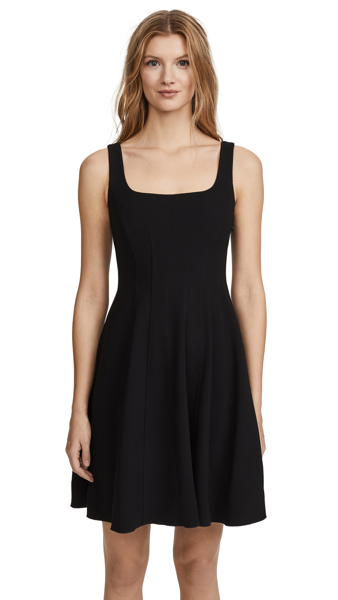 Theory Modern Flare Dress - Black