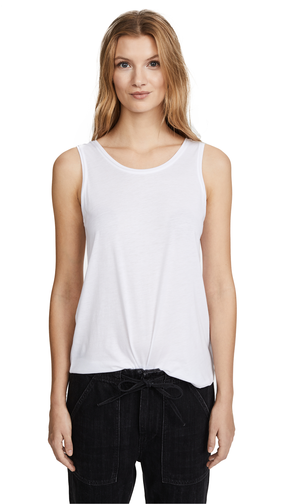 Theory Insar 2 Tank Top - White