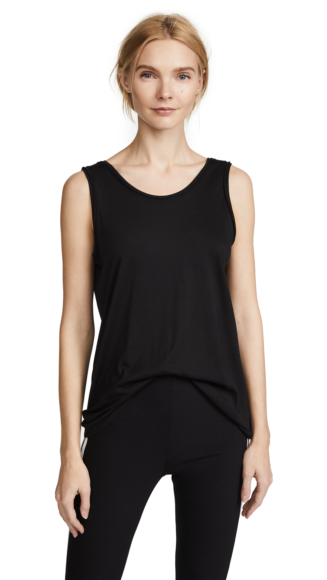 Theory Insar 2 Tank Top - Black
