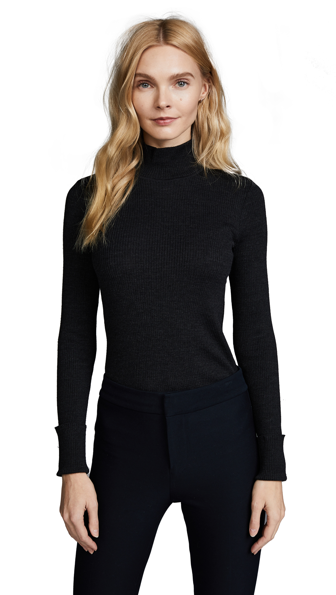 Theory Basic Sweater - Black
