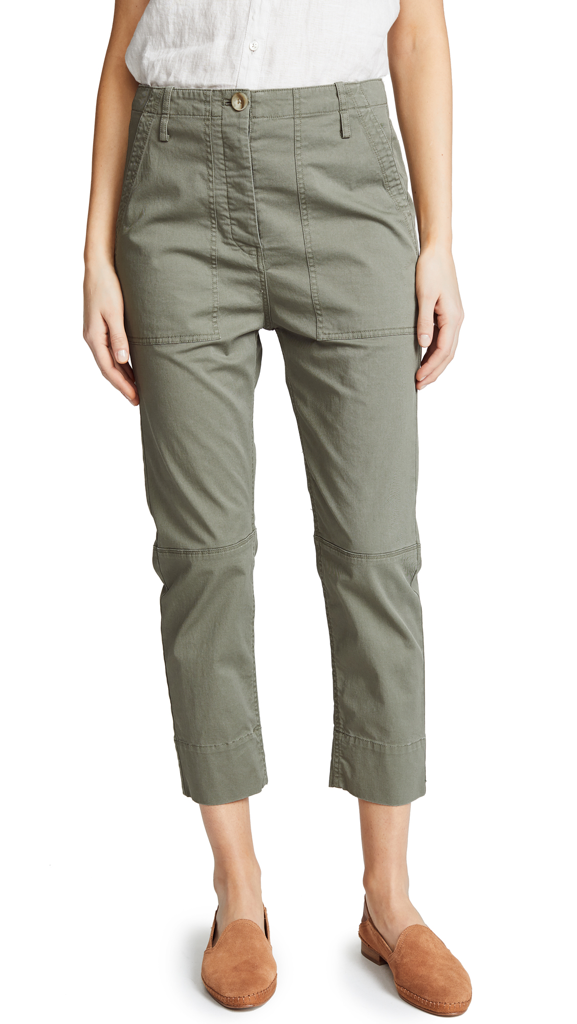 Theory Spring Crop Cargo Pants