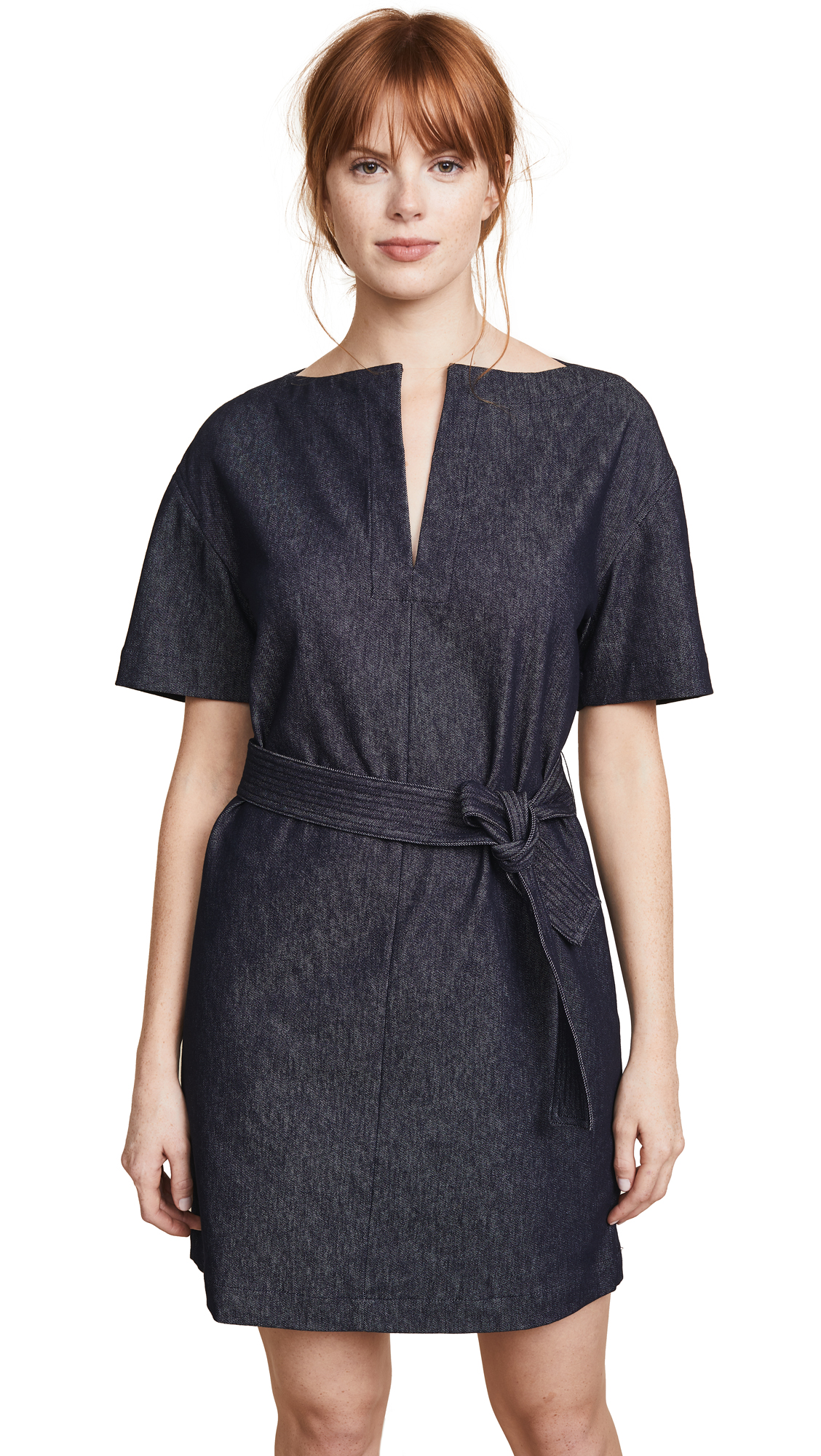 Theory Belted Shift Dress