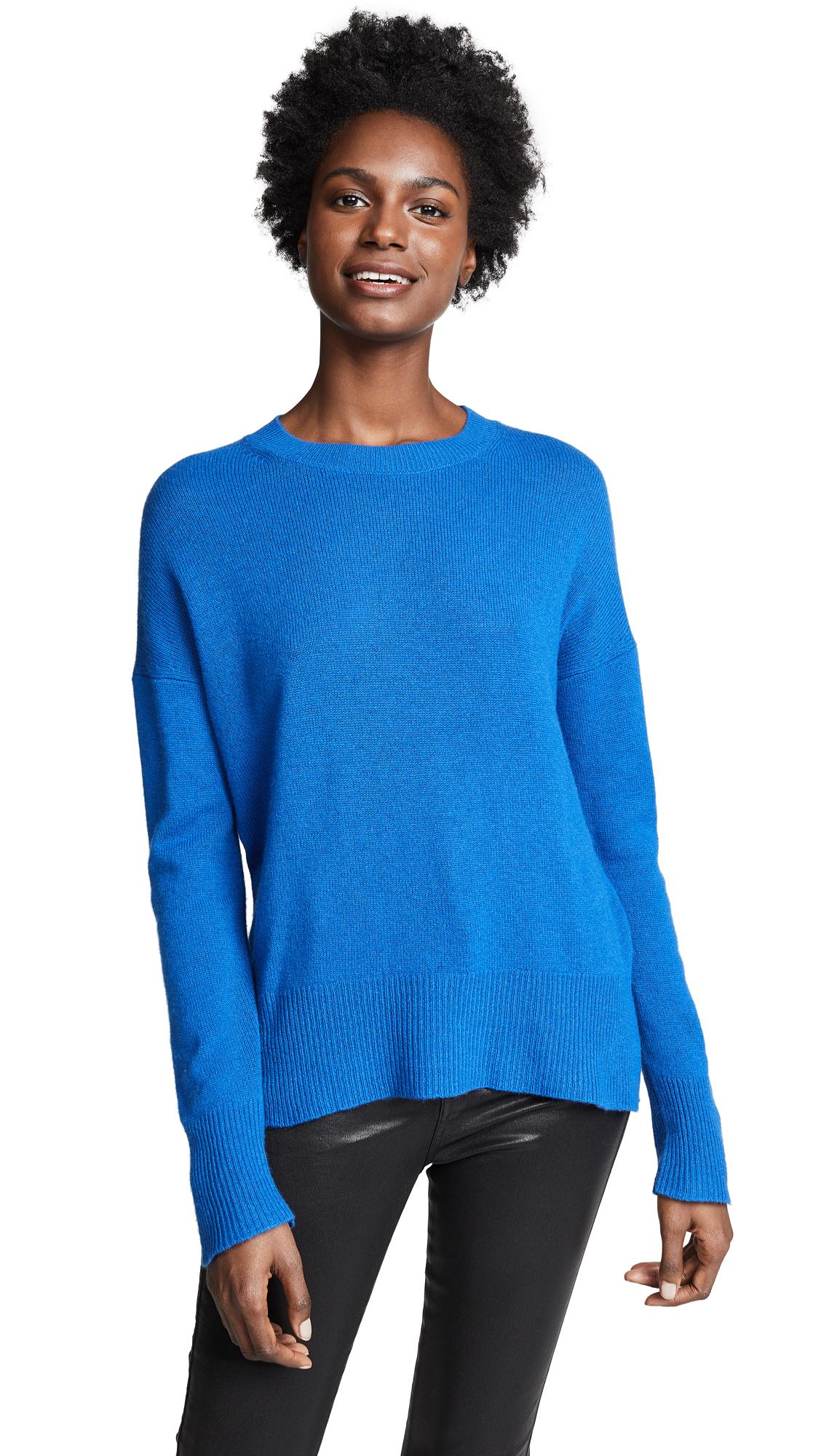 Theory Karenia Cashmere Sweater - Royal Blue