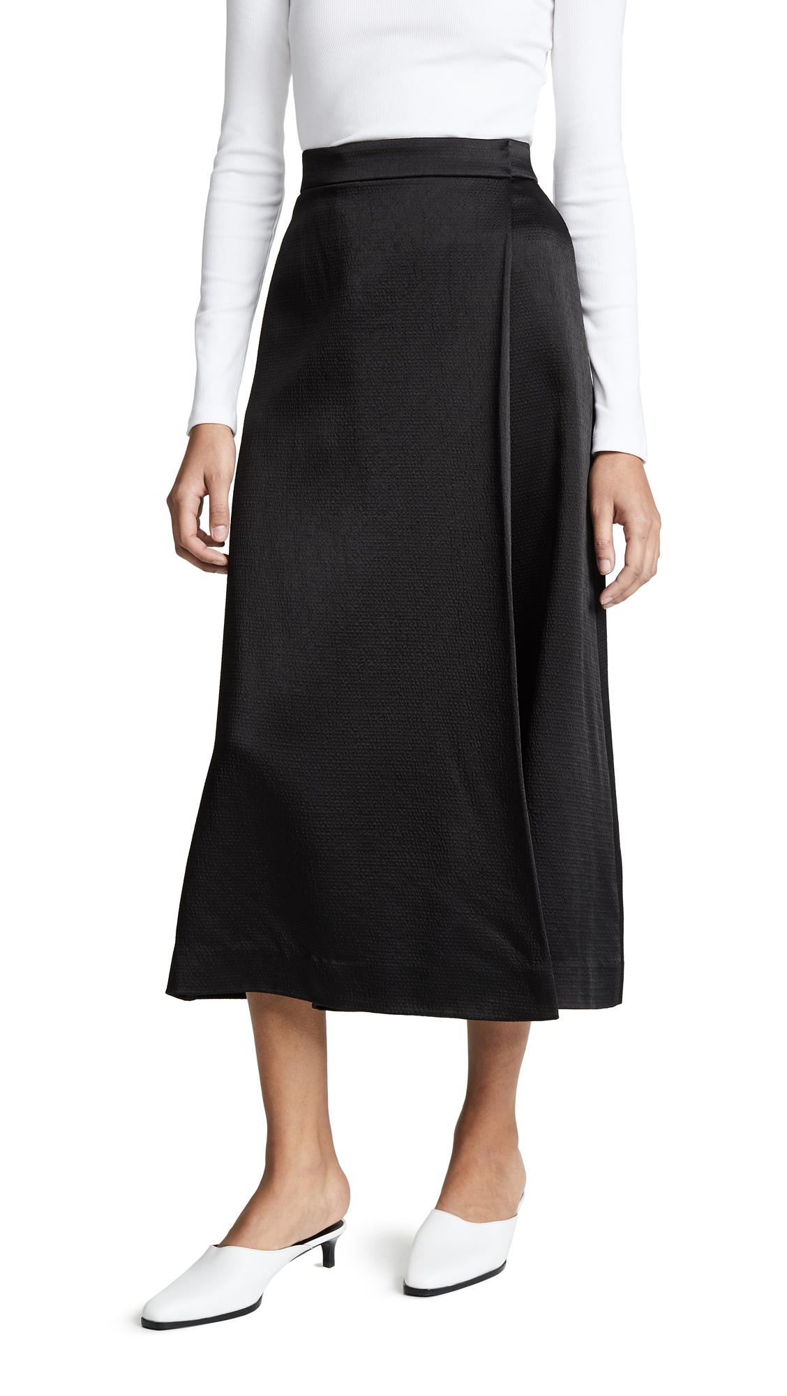 Theory Skirt Pants - Black
