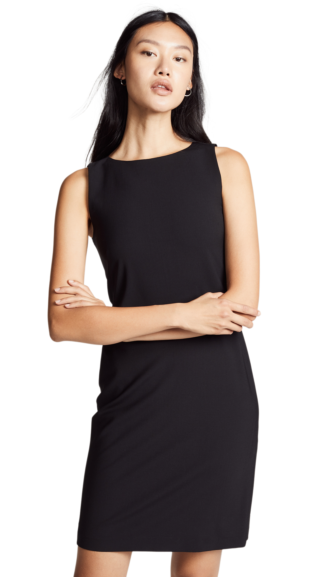 Theory Betty 2B Dress - Black