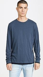 Theory Double Long Sleeve T-Shirt
