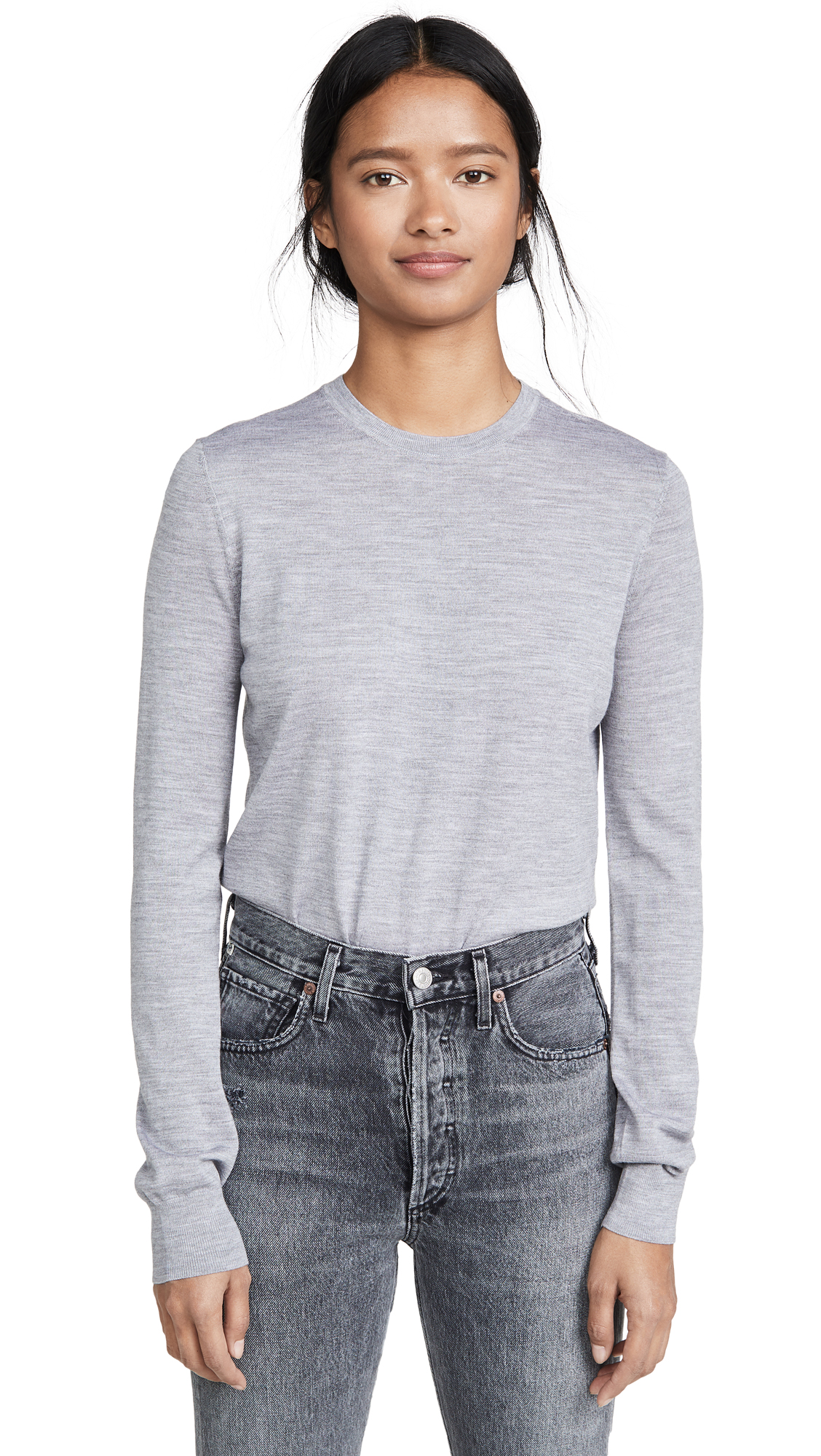 Theory Tops CREW NECK PULLOVER