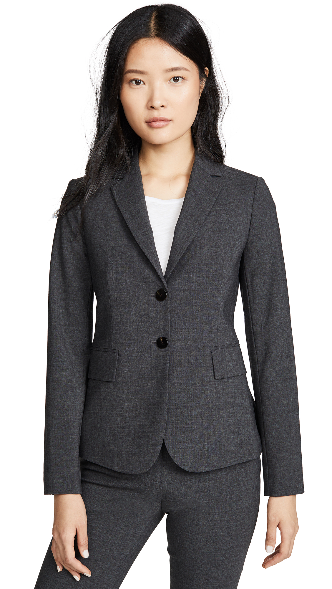 Buy Theory online - photo of Theory Good Wool Carissa Blazer