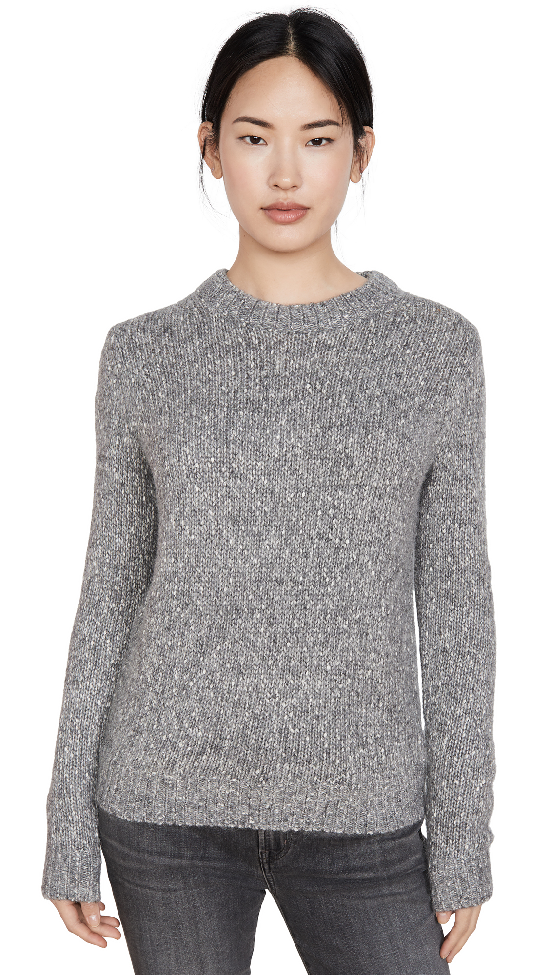 Buy Theory online - photo of Theory Speckled Crew Pullover