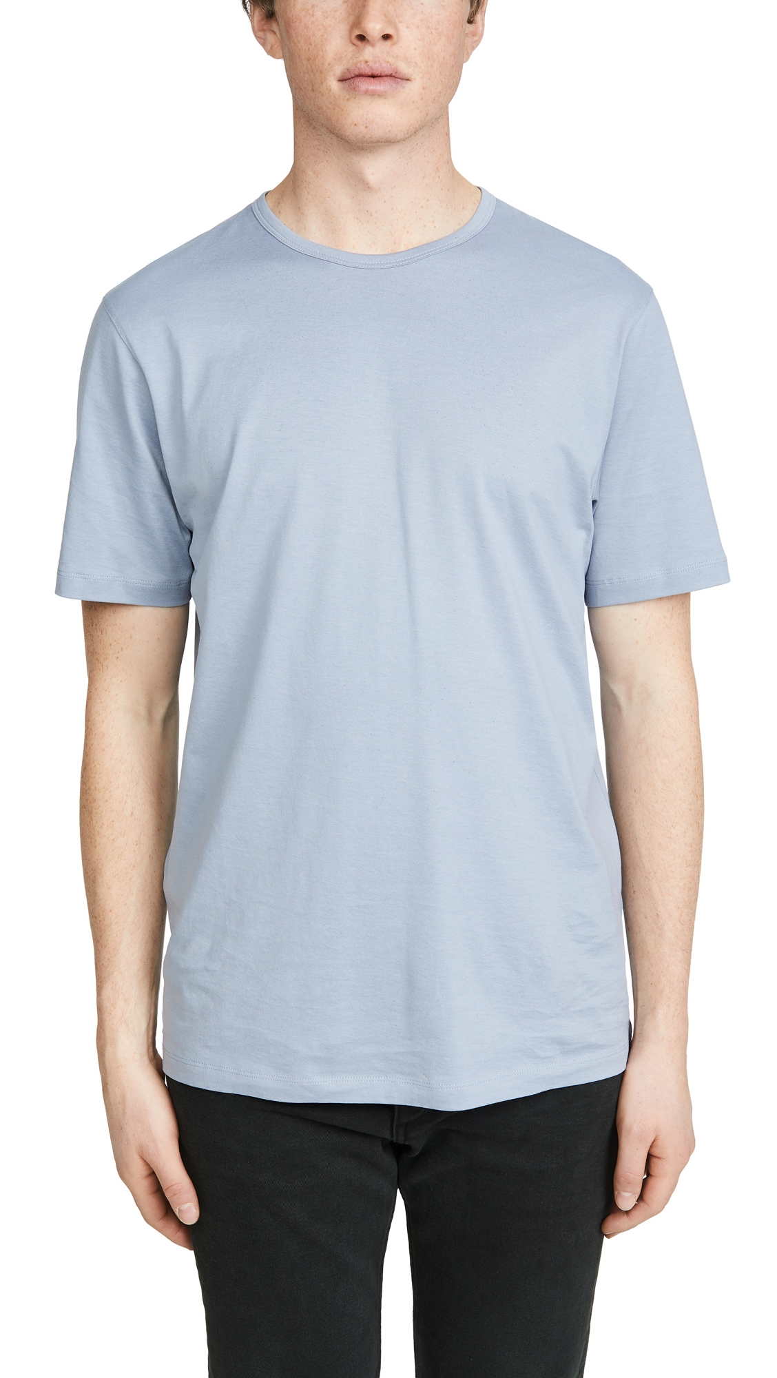 Theory T-shirts PRECISE LUX COTTON T-SHIRT