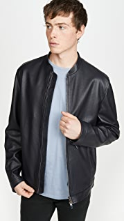 Theory Morrison Leather Jacket