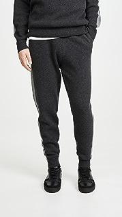 Theory Astine Wool Cashmere Track Pants