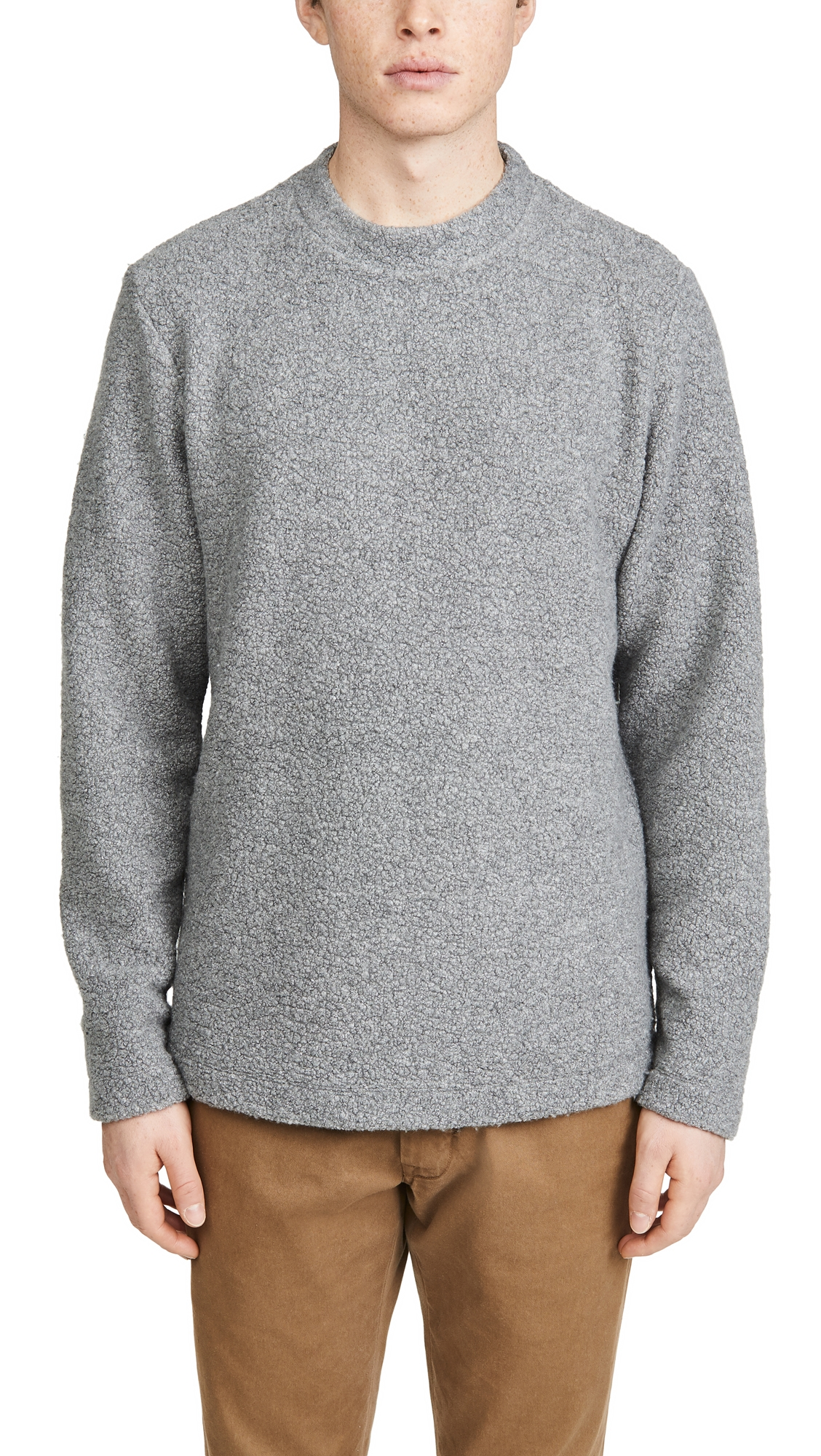Theory Sweaters BIRCH TECH WOOL CASHMERE SWEATER