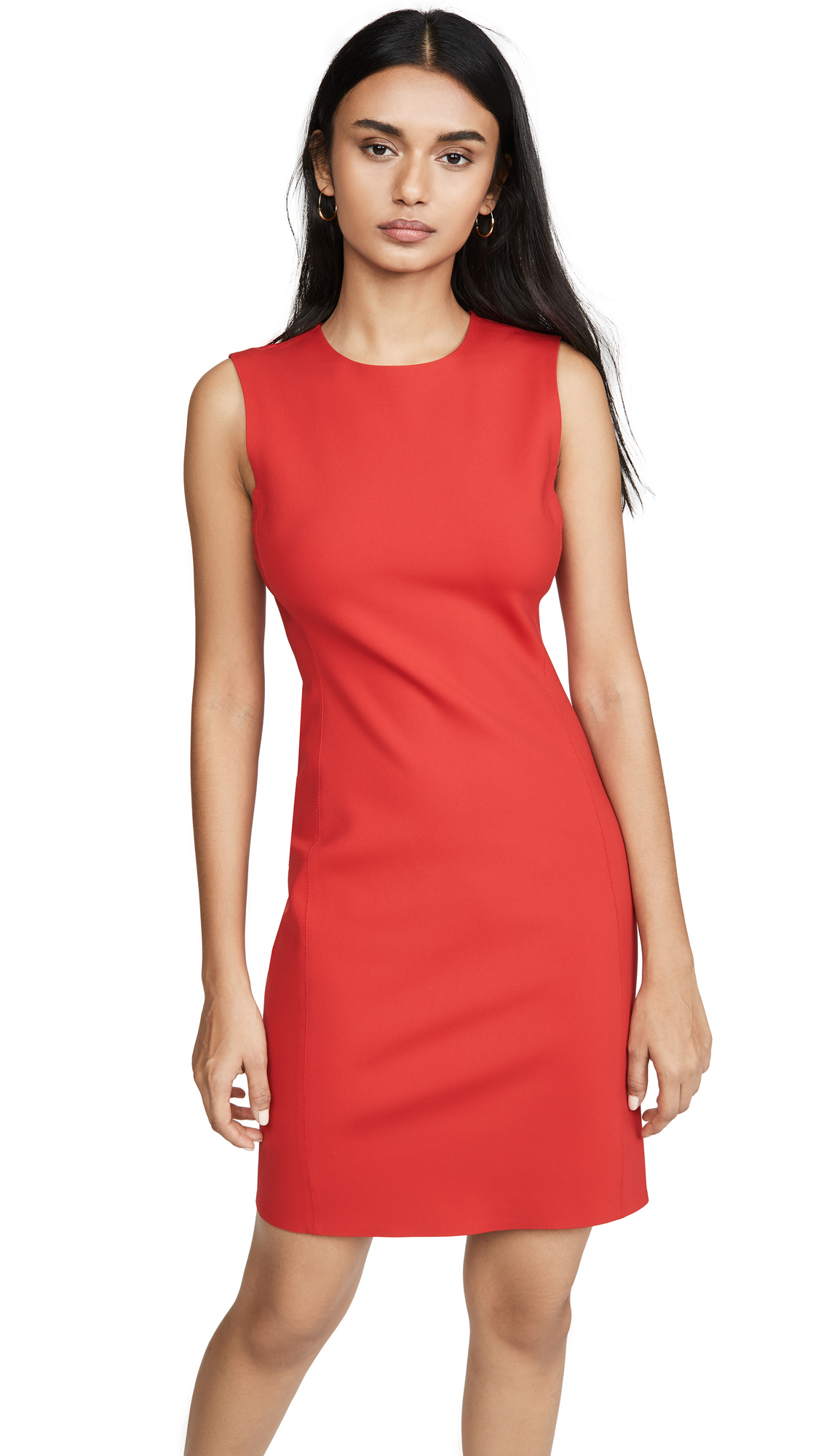 Buy Theory online - photo of Theory Sleeveless Fitted Dress