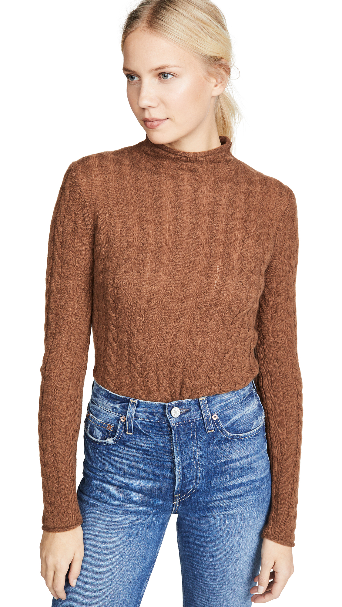 Buy Theory online - photo of Theory Cable Cashmere Sweater