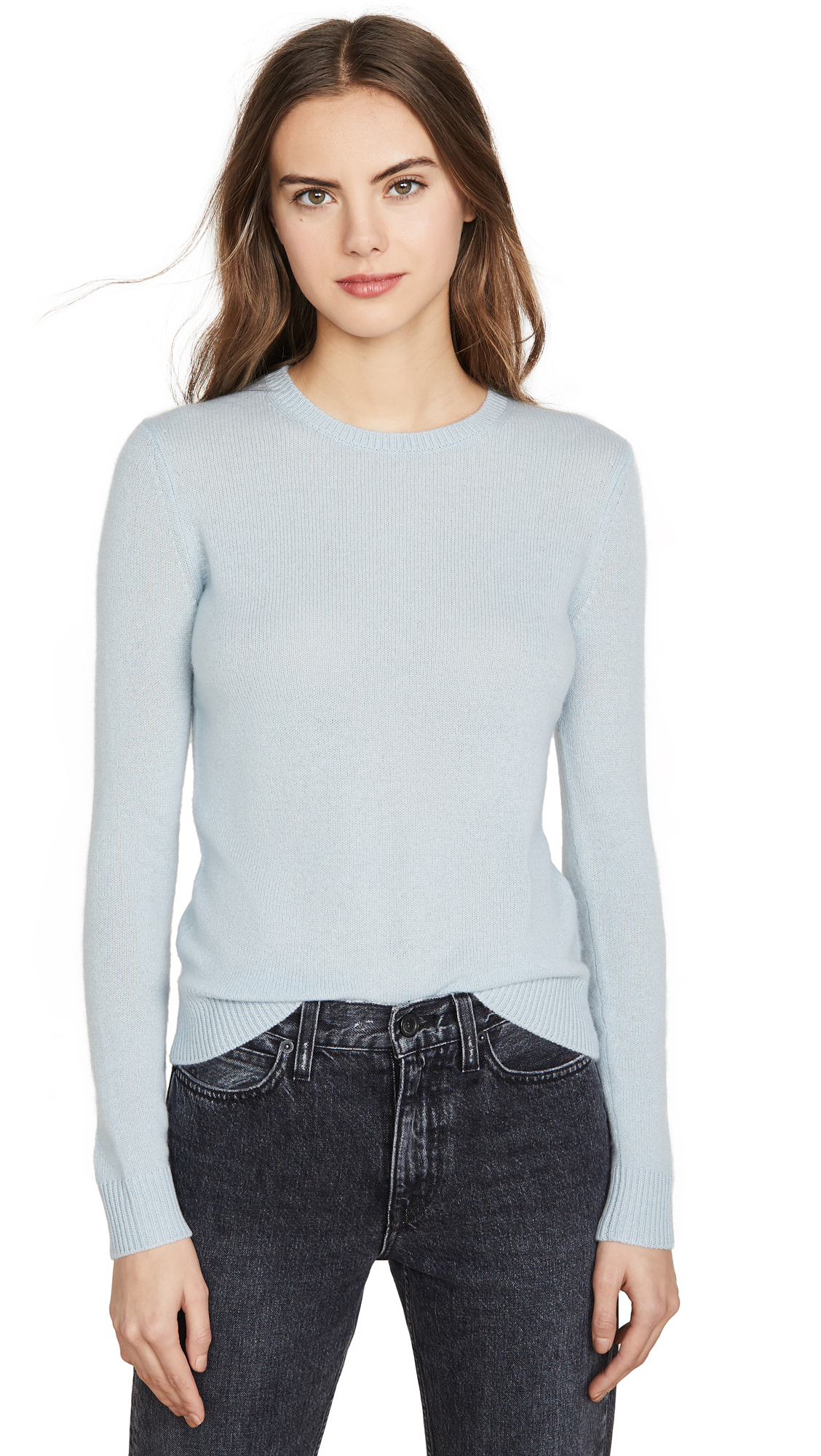 Buy Theory online - photo of Theory Crew Neck Cashmere Pullover