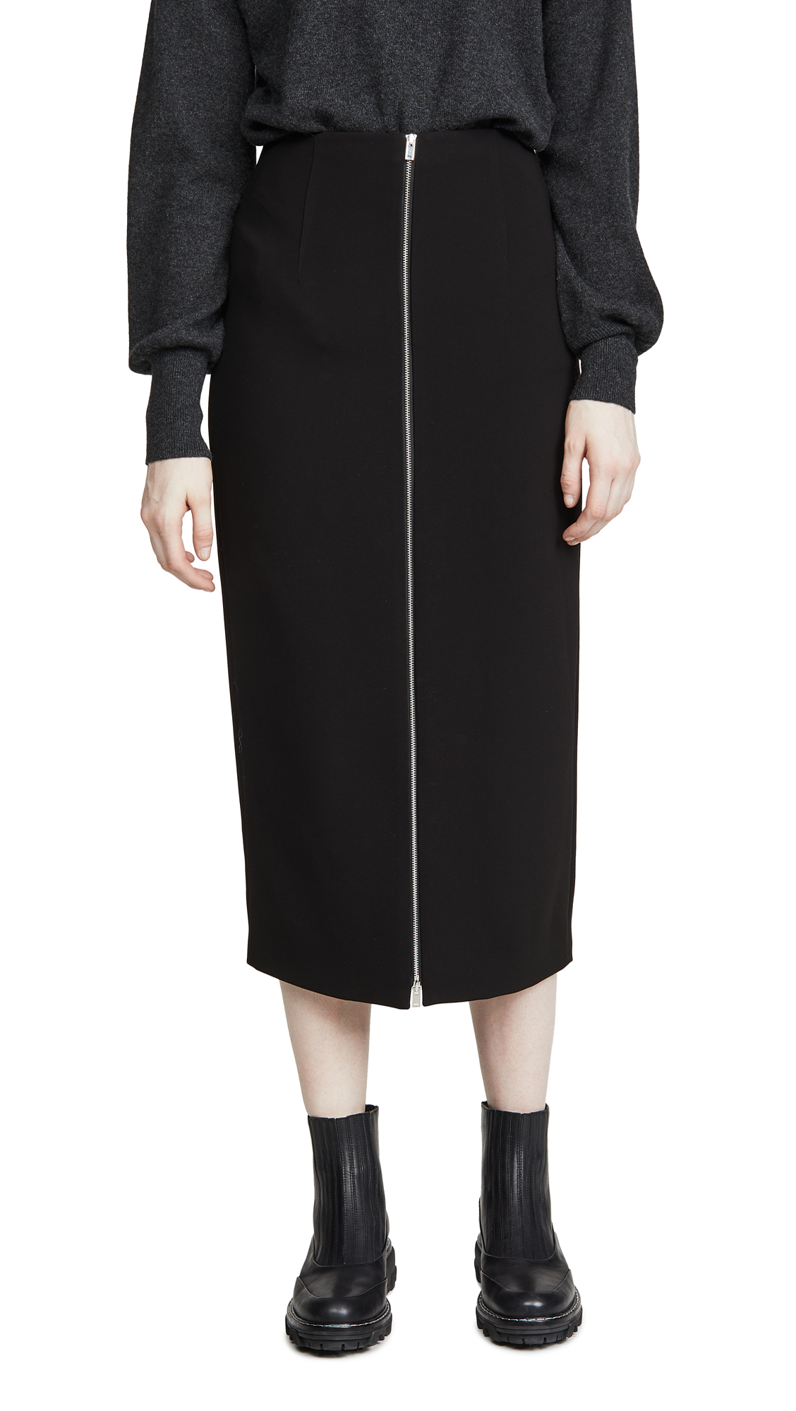 Buy Theory online - photo of Theory High Waist Zip Skirt