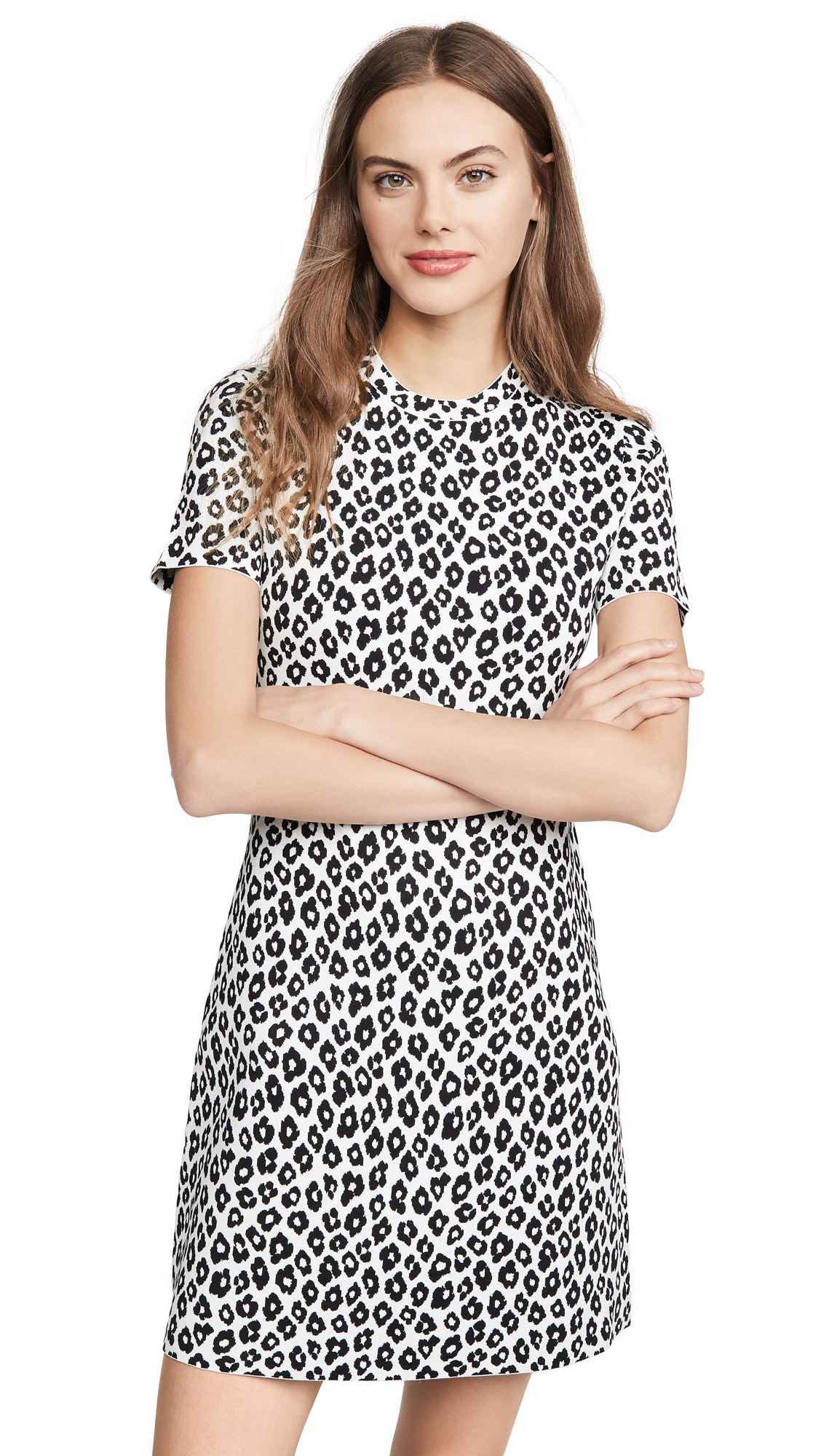 Buy Theory online - photo of Theory Leopard Tee Dress