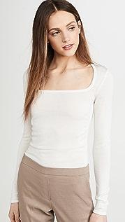 Theory 抽褶女式衬衫