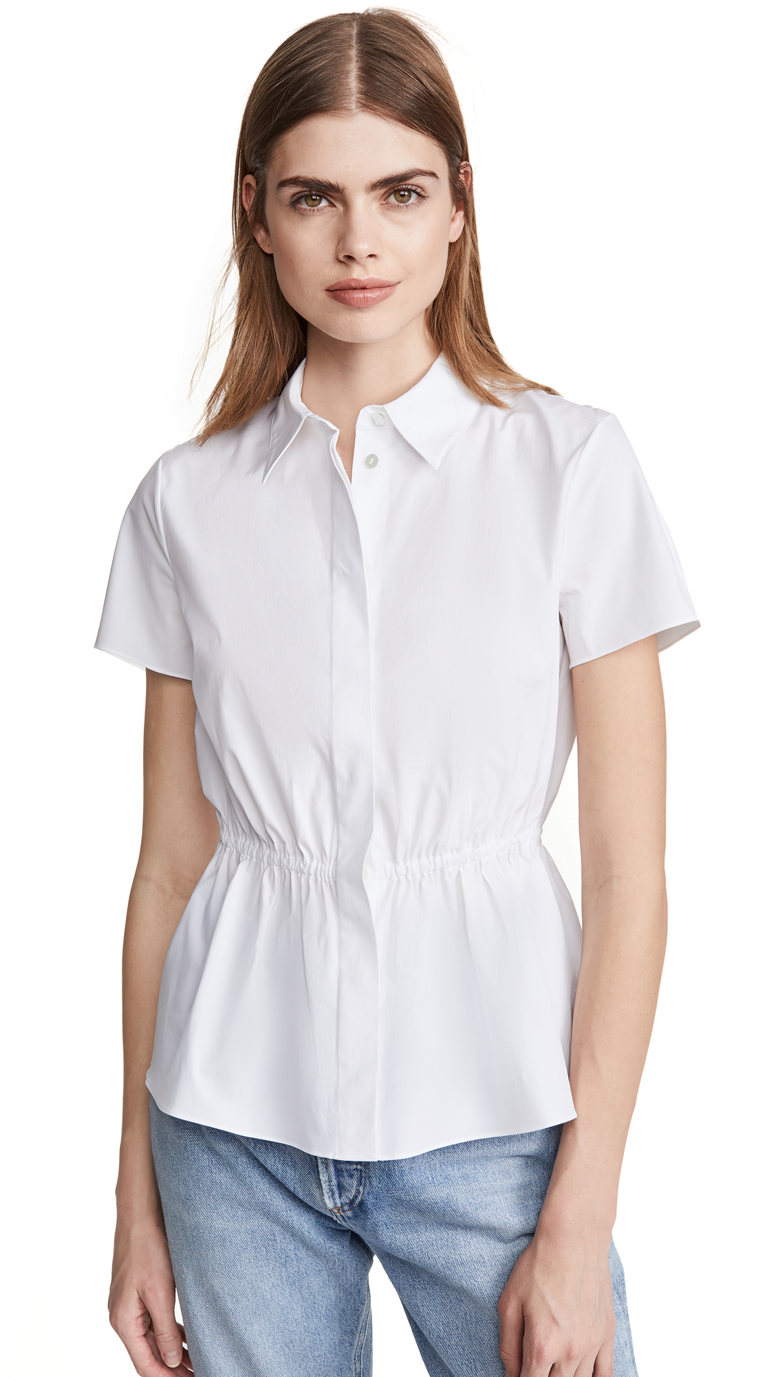 Theory Cinched Shirt – 50% Off Sale