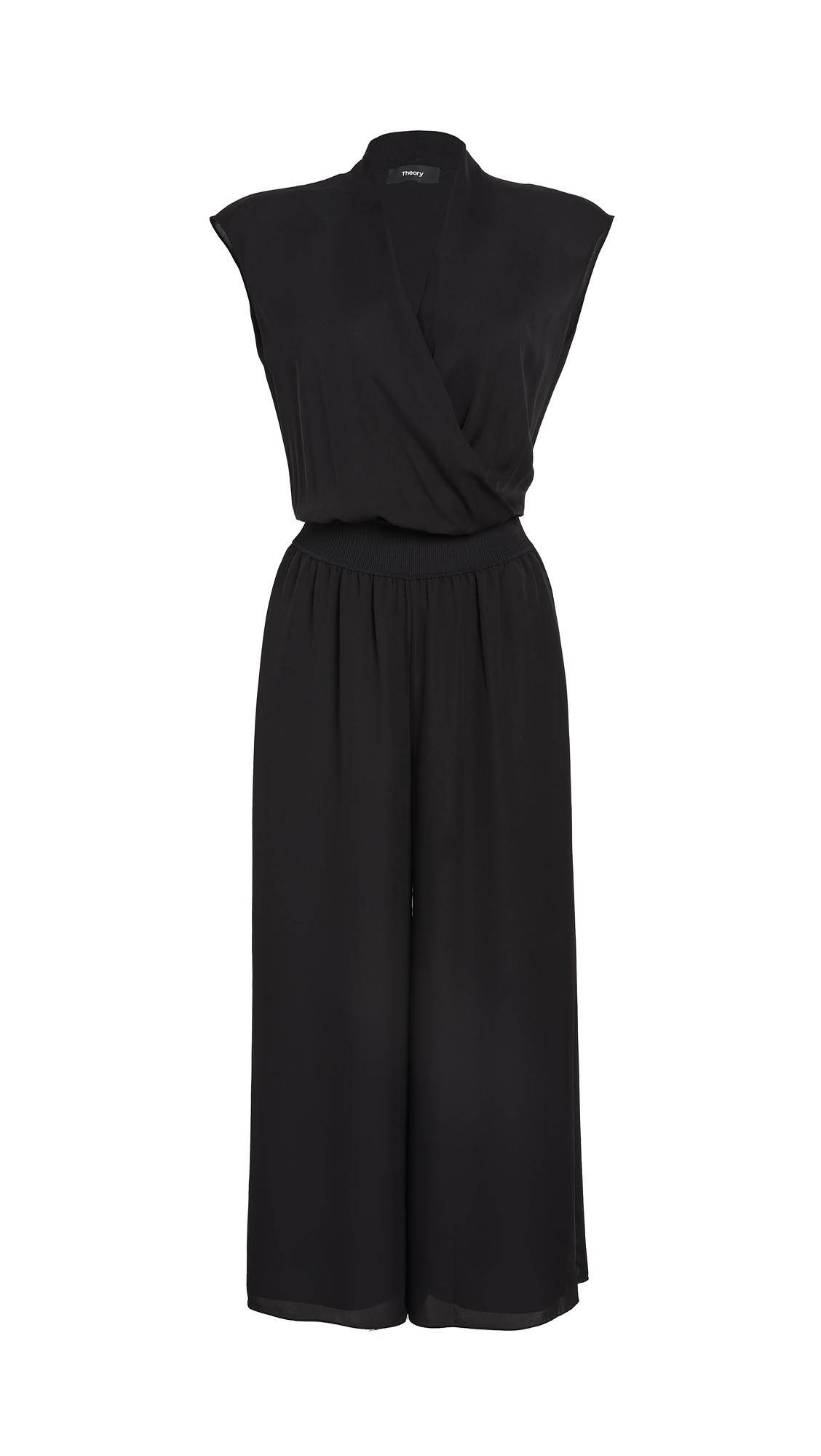 Theory Draped Combo Jumpsuit